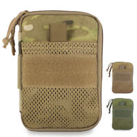 Bulldog MOLLE Battle Buddy Military Army Admin EDC Notebook Utility Pouch Wallet