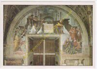 CP TABLEAU ART RAFFAELLO SANZIO RAPHËL La Messe de Bolsena