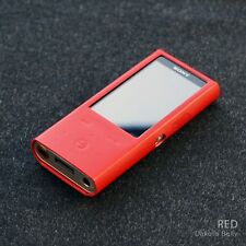 For Sony NW-ZX100 Premium Genuine Leather Case MP3 Protect Cover CENTUM - Red