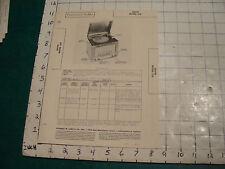 vintage Original Photofact: RADIO & RECORD PLAYER--ARVIN model 558
