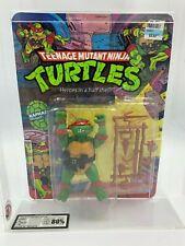 Playmates NEW TMNT Ninja Turtles 1988 UKG not AFA GRADED 80% RAPHAEL 10BK! RARE!