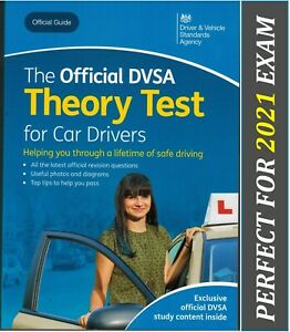Official DSA DVLA theory test book for car drivers 2021 1day dispatch*ThryBK