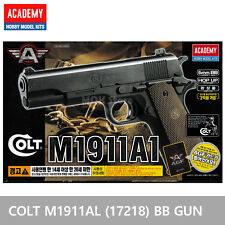 ACADEMY Colt M1911A1 (17218) Airsoft BB Gun 6mm /Spring,Hop Up System, ABS
