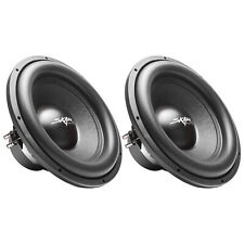 "(2) NEW SKAR AUDIO SDR-15 D2 15"" 1200W MAX POWER DUAL 2 OHM SUBWOOFERS - PAIR"