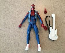 "Marvel Legends Spider-Punk 6"" Action Figure Lizard BAF Series"