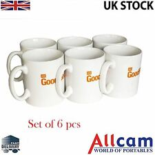 BBC Good Food - Coffe / Tea Mugs - Set of 6pcs, Microwave and Dishwasher Safe