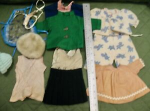 Group of Vintage Clothes for Hard Plastic or Composition Dolls