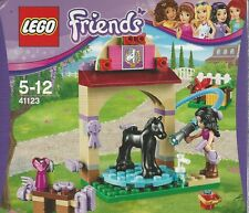 LEGO FRIENDS 41123 FOAL'S WASHING STATION incl Emma Minidoll New Nib Sealed