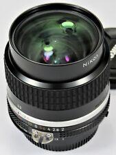 * Mint L/N * Nikon 35mm F2.0 Ai-s For F3 Fm2 Fe2 F2 D700 D600 Fm3A D750