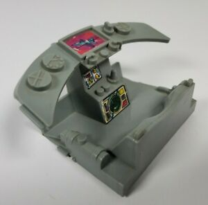 TMNT Turtle Copter 1990 Seat Cockpit Assembly Replacement Part Accessory