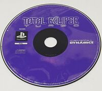 TOTAL ECLIPSE TURBO Sony PlayStation 1 DISC ONLY  Space Sim Game PS1 PAL UK