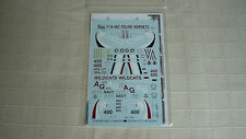 Two Bobs decals 48120 f/a-18c HORNET vfa-131 Feline Hornets