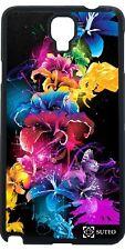 Coque Samsung Galaxy Note 3 Lite (N7505) -  Fleurs - ref 1324
