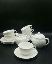 More details for spode 'savoy' (white cabbage) part tea set-tea cups/saucers etc.-excellent