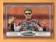 2011 Press Pass Showcase Gold Jeff Gordon /125 NASCAR #44