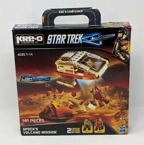 K-REO Spock's Volcano Mission STAR TREK KREO Set (141 pieces) NEW!