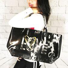 Victoria's Secret Love Victoria Holographic Large Tote Travel Overnight Bag VS