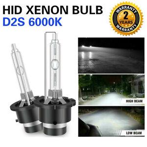 6000K White D2S D2R D2C HID Xenon Bulbs Factory Headlight Replacement