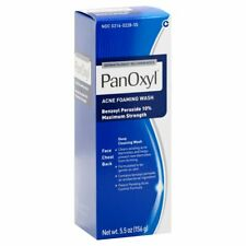 PanOxyl Acne Foaming Wash Benzoyl Peroxide 10% 5.5oz