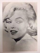 MARILYN MONROE 80s POSTCARD 1960 Let's Make Love close up portrait hair test