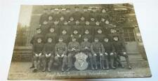 POLICE ROYAL IRISH CONSTABULARY SERGT. PETER'S SQUAD  REAL PHOTO PC c 1910   715