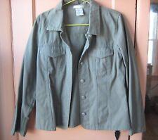 Olive Green jean Jacket 10