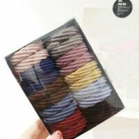 20Pcs Elastic Hair Ties Band Rope Rings Ponytail Holder Accessories Scrunchie