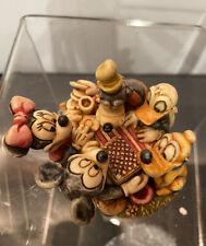 New ListingHarmony Kingdom Disney Patriotic Picnic Marble Resin Box Figurine Le 500 Rare