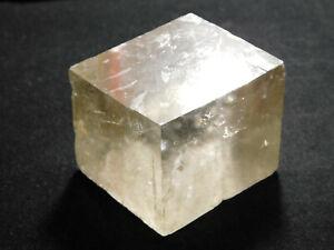Iceland Spar HONEY Calcite Crystal Mexico 84.0gr