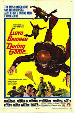 SCUBA DIVING/ PARACHUTING 1968 original SKY DIVING movie poster LLOYD BRIDGES