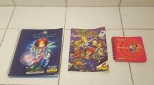 Lot de 3 albums panini WITCH