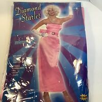 Diamond Starlet Adult Costume, One Size, New In Package.