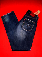 Levis 501 Designer Jeans Levi's Limited Edition w30 l33 U.S.A. estupenda Design nuevo