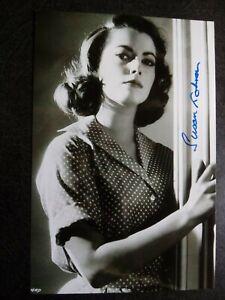 SUSAN KOHNER Authentic Hand Signed Autograph 4X6 Photo - BEAUTIFUL ACTRESS