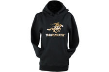 Winchester Women's Hoodie Black and Gold XL