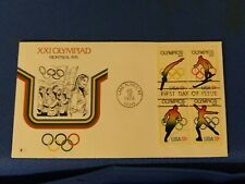 Scott #1695 Thru 1698 13 Cent Plate Block Stamps Honoring The XXI Olympiad First