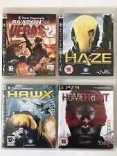 PS3 Game Bundle - Tom Clancys Rainbow Six Vegas + HAWX + Haze + Homefront (889