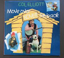 COL ELLIOTT - Move Over Rover I'm Back Vinyl LP Record EX+ 1984 Comedy Album