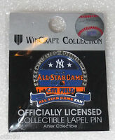 NEW YORK YANKEES 2013 METS CITIFIELD ALL STAR GAME LIMITED EDITION NY FAN PIN