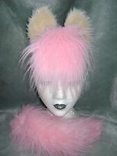 Posey My Little Pony Horse Foal Ears & Tail Set Pink & Cream Unique Fancy Dress