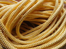 "Bolo Cord 36"" LIGHT YELLOW rayon (pkg 12) 0809 Plasticized Tips 4mm thickness"