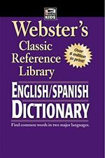 Websters English to Spanish Dictionary Dictionary