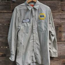 NAPA Mechanic Mens Button Down Shirt Size XL