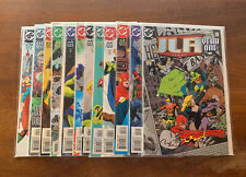 New listing Jla Year 00006000  One 1-12 Justice League America Complete Set Waid Augustine 1998 Dc Nm