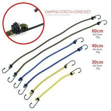 6pcs/Set Bungee Cords Wires With Zinc Hooks Cables Straps Bungie Elastic Rope