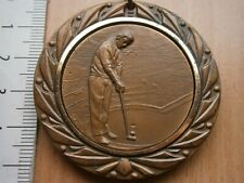 1975 Portoroz Slovenia Yugoslavia Golf Sport Games Medal Medaille Sdk PortoroŽ