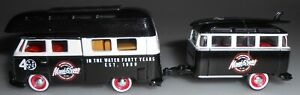 M2 Machines Volkswagen 1959 Double Cab with Trailer Black 2020 Loose