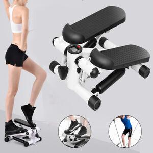 Mini  Stepper Computer Fitness Home Trainer  Palestra Con bande resistenza