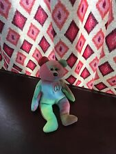 Ty Beanie Baby Peace Bear 1996 Retired Every Peace is different!