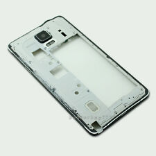 Black Middle Frame Housing Bezel Camera Cover For Samsung Galaxy Note 4 N910F